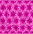 pink seamless geometric pattern with squares vector image