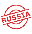 Russia rubber stamp vector image vector image