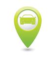 Car GREEN map pointer