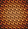 Gold gradient geometric cubic background vector image