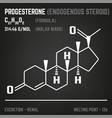hormone molecule image vector image vector image