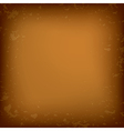 old brown grungy background vector image vector image