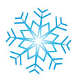 snowflake ornate vector image vector image
