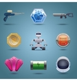Space game icons vector image vector image