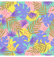 stylish tropical seamless pattern vector image vector image