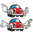 The best mechanic car character vector | Price: 3 Credits (USD $3)