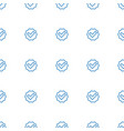 tick icon pattern seamless white background vector image vector image
