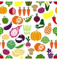 Vegetables and fruits background vector image vector image