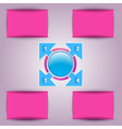 background of the modern versions vector image vector image