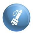 climb flashlight icon simple style vector image vector image