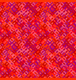colorful abstract geometrical mosaic pattern vector image vector image