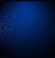 computer circuit board vector image vector image