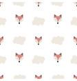 cute seamless pattern scandinavian style vector image vector image