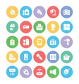 Electronics icons 5 vector image vector image