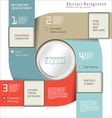 Modern design layout vector image