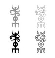 name odin rune rune hide the name of odin vector image vector image