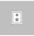 Safe computer symbol vector image vector image