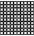seamless x pattern crosses circles vector image vector image