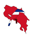 Toucan Costa Rica vector image vector image