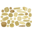 Various Breads Set vector image vector image