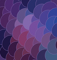 abstract geometry circle backdrop vector image