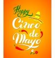 Cinco De Mayo hand drawn lettering