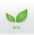 Eco friendly background vector image
