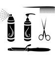 Hairdressing set vector | Price: 3 Credits (USD $3)