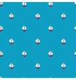 Trendy simple ship pattern vector image