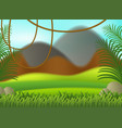 a nature blur background vector image