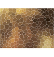 abstract background with scarlet gold carp vector image vector image