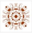 Beautiful Boho Mandala vector image