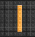 blocks in english capital letter i alphabet set vector image