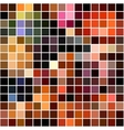 Bright colorful mosaic seamless pattern vector image