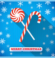christmas sweets postcard vector image