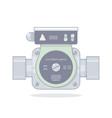 circulation pump vector image vector image