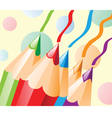 Colour pencil vector image vector image