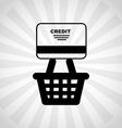 credit card design vector image