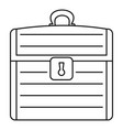 dower icon outline style vector image