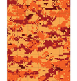 fire camo tileable vector image