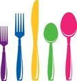 food6 vector image