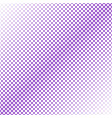 halftone diagonal square pattern background vector image vector image