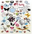 set of icon vector image vector image