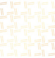 simples lines pattern in golden color vector image