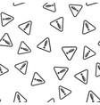 warning sign seamless pattern vector image vector image