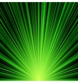 Abstract green stripes burst background vector image