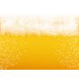 beer background craft lager splash oktoberfest vector image