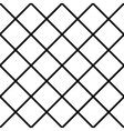 Black White Grid Chess Board Diamond Background vector image