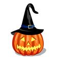 pumpkin - halloween vector image vector image