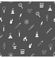 seamless laboratory pattern vector image vector image